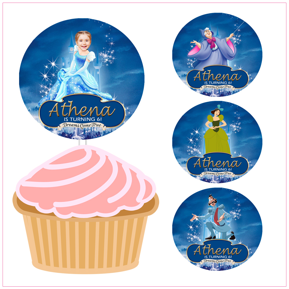Excellent Cupcake Toppers Handy Shandy Designs Birthday Cards Printable Inklcafe Filternl